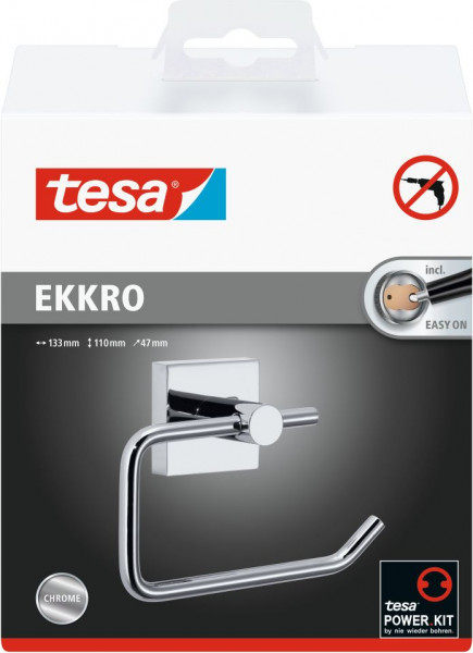 tesa® ekkro WC-Papierrollenhalter ohne Deckel