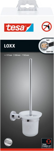 tesa® LOXX WC-Bürstengarnitur