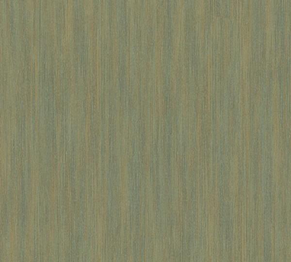 A.S. Création Vliestapete Sumatra, Uni Grün Metallic 328821