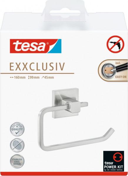 tesa® Exxclusiv Toilettenrollenhalter ohne Deckel