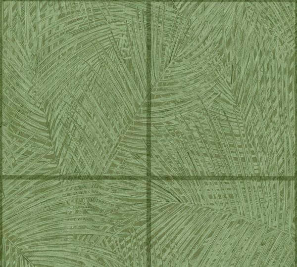 A.S. Création Vliestapete Sumatra, Grün 373721