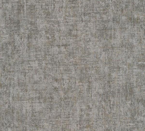 A.S. Création Vliestapete Greenery, Uni Grau Metallic 322614
