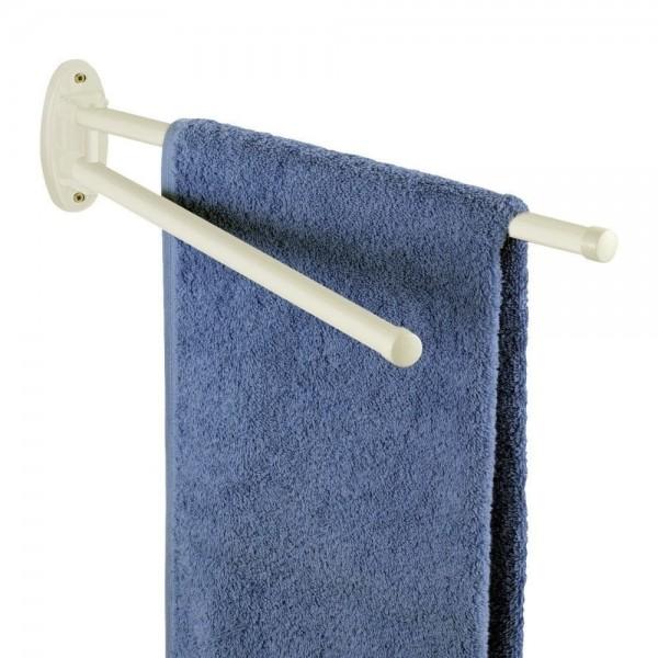 WENKO Handtuchhalter Basic Weiß