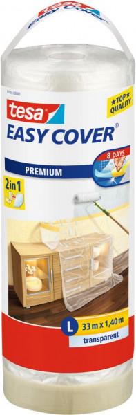 tesa® Easy Cover® Premium L Abdeckfolie Nachfüllrolle 33 m x 1400 mm