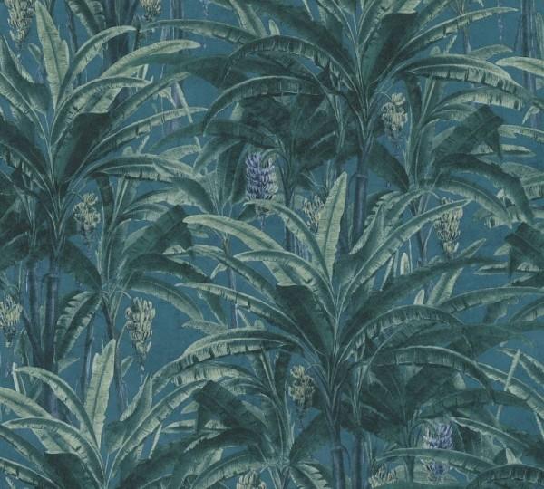 A.S. Création Vliestapete Greenery, Grün Blau 364801