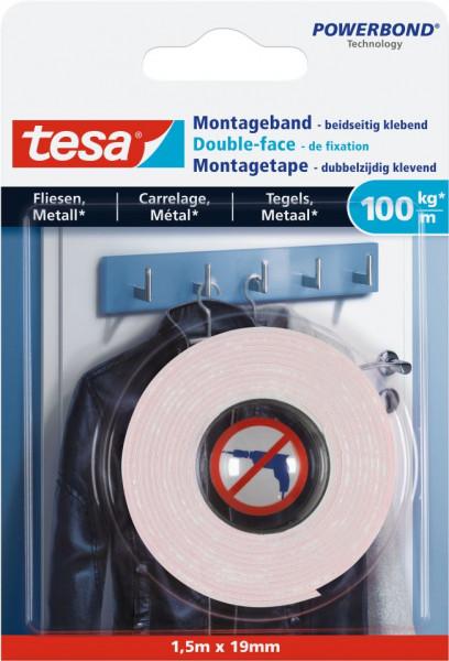 tesa® Montageband Fliesen, 100 kg