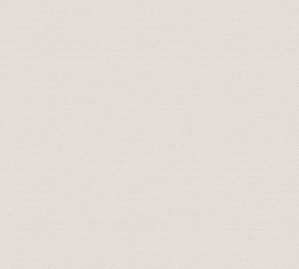 A.S. Création Vliestapete Greenery, Uni Beige Creme Grau 372115
