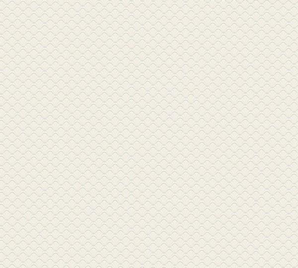 A.S. Création Vliestapete Trendwall, Uni Creme Weiß 373641