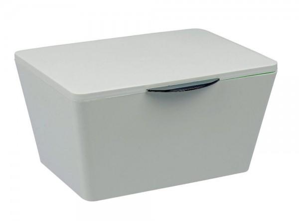 WENKO Aufbewahrungsbox mit Deckel Brasil Weiß