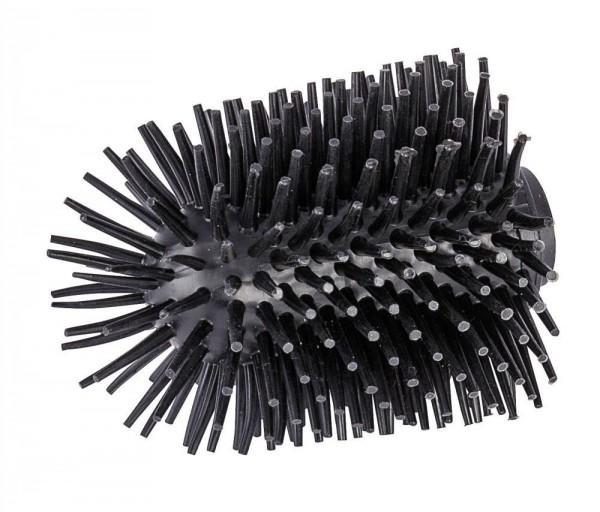 WENKO Ersatzbürstenkopf für WC-Garnituren Silikon, Ø 7,5 cm