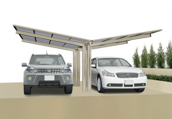 Ximax Design-Carport Linea Typ 80 - Y Ausführung
