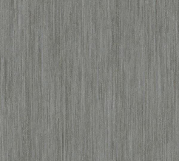 A.S. Création Vliestapete Sumatra, Uni Grau Metallic Schwarz 328834
