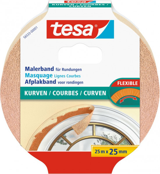 tesa® Malerband Kurven