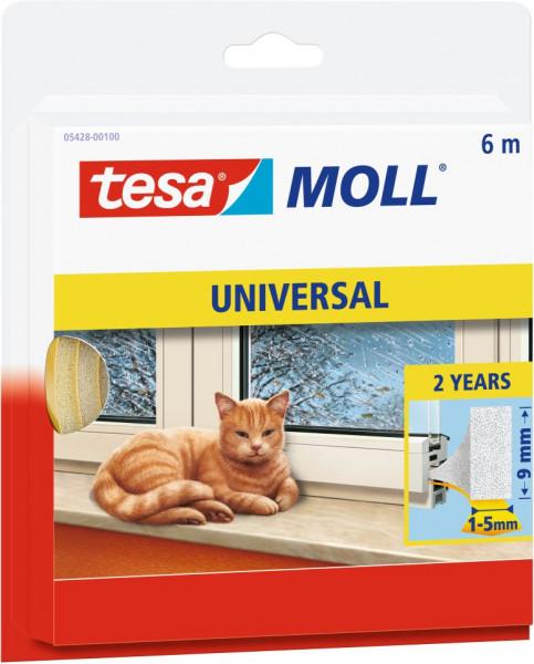 tesamoll® Universal Schaumstoff, weiß, für Spalten von 1-5 mm