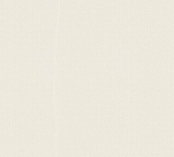 A.S. Création Vliestapete Trendwall, Uni Creme Weiß 373651