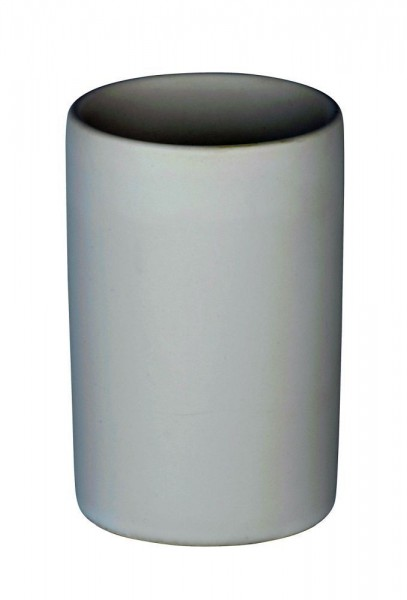 WENKO Zahnputzbecher Polaris Weiß matt, Keramik