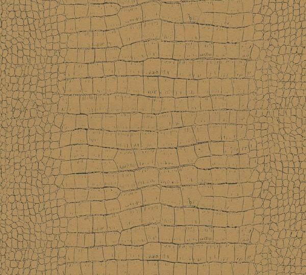 A.S. Création Vliestapete Trendwall, Metallic Braun 371010