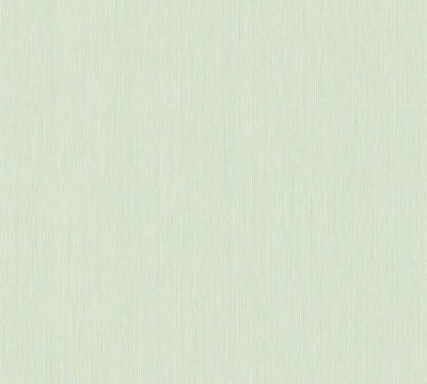 A.S. Création Vliestapete Sumatra, Uni Creme Grün 373755