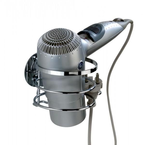 WENKO Turbo-Loc® Edelstahl Haartrocknerhalter