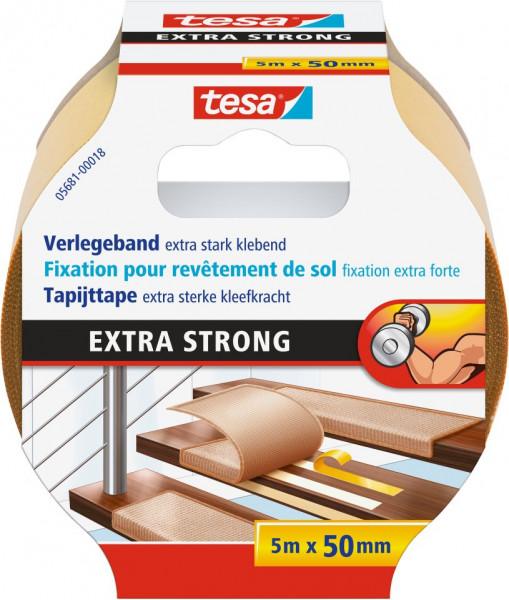 tesa® Verlegeband, extra stark klebend