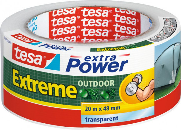 tesa® extra Power® Reparaturband Extreme Outdoor 20 m x 48 mm