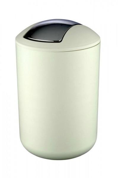 WENKO Kosmetikeimer Brasil Weiß L, 6,5 Liter