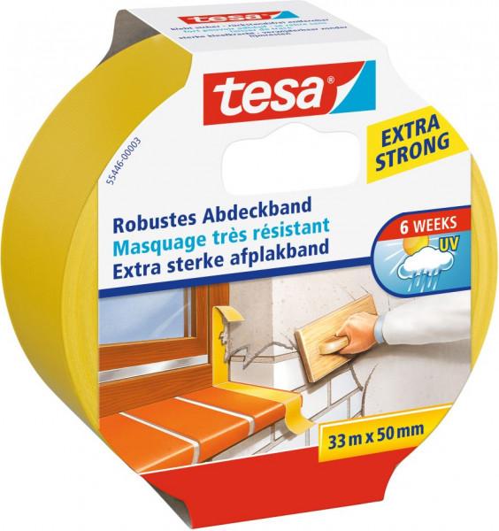 tesa® Robustes Abdeckband 33 m x 50 mm