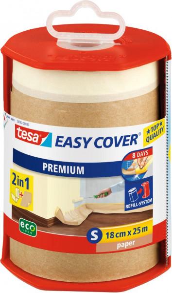 tesa® Easy Cover® Premium S Abdeckpapier im Abroller 25 m x 180 mm