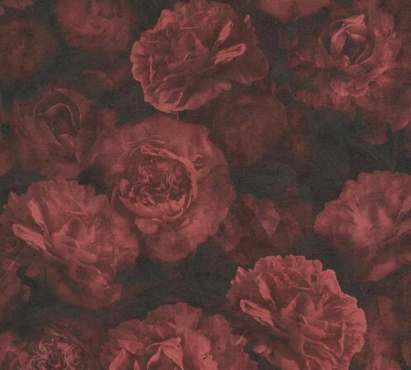 A.S. Création Vliestapete Neue Bude 2.0 Ed. II, Barock Rose Rot 374024