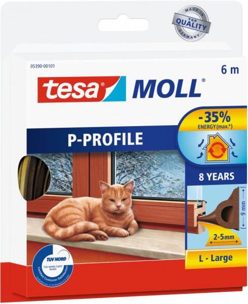 tesamoll® P-Profil für Spalten von 2-5 mm