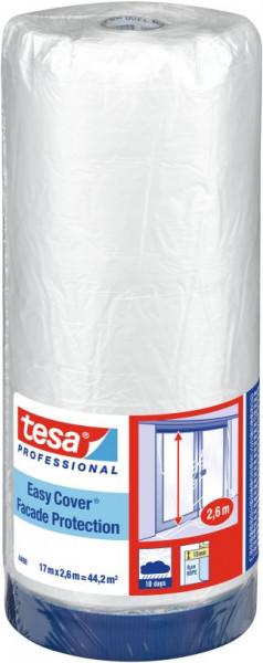 tesa® Easy Cover UV Gewebe Basic, Kombination aus Putzband und Abdeckfolie