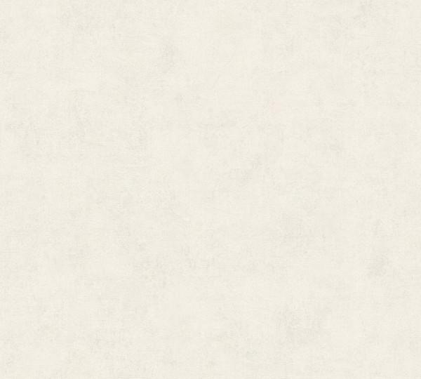 A.S. Création Vliestapete Neue Bude 2.0 Ed. II, Uni Weiß 374162