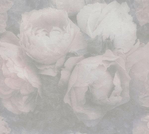 Livingwalls Vliestapete New Walls, Romantic Dream Rose Weiß 373923